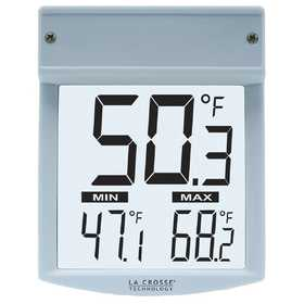 LA CROSSE TECHNOLOGY LTD WT-62U-TBP Outdoor Window Thermometer