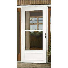 Larson Doors 99016032 36 in Canterbury Single Vent Storm Door