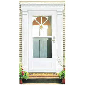 Larson Doors 99057032 36 in Vinyl Clad Mid View Storm Door