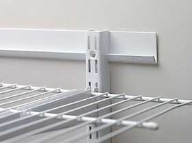 Rubbermaid FG3Q7000WHT 40 in White FastTrack Rail