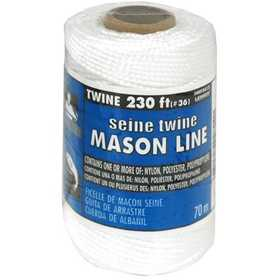 Lehigh NST3612HD Seine Twine #36x230 Ft Nylon White