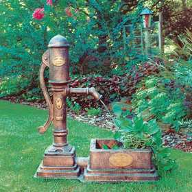 Little Giant Outdoor Living 14940295 Fountain Planter Village Pump
