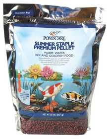 Little Giant Outdoor Living 566017 Fish Food Summer Staple W/F&g