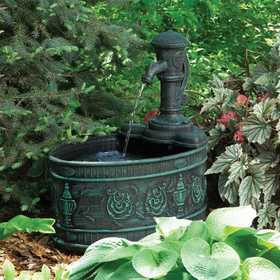 Little Giant Outdoor Living 566760 Fa-C-V Fountain Calabria W/120 Pump