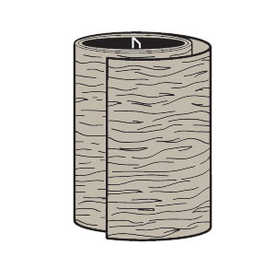 Cellwood ALATC 24N4 Pvc Trim Coil Khaki 24 in