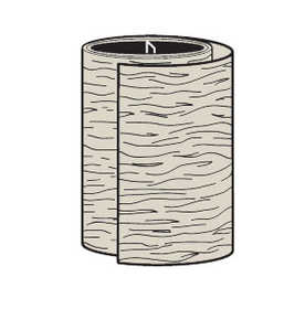 Cellwood ALATC 24M4 Pvc Trim Coil Sand 24 in