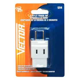 Vector 1214B Cube Tap 3 Outlet