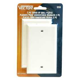 Vector 1233 Wall Plate Cover Up 2pc