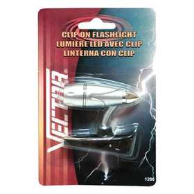 Vector 1286 Flashlight Clip On Led