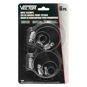 Vector 1469 Hose Clamp Deluxe 6pc