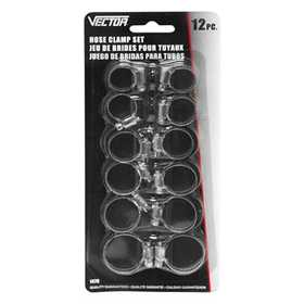 Vector 1479 Clamps Hose 12pc