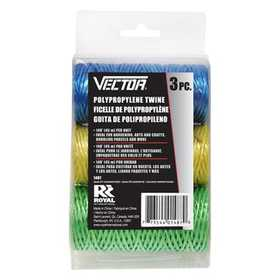 Vector 1487 Rope Poly Blue Red Green 3pc