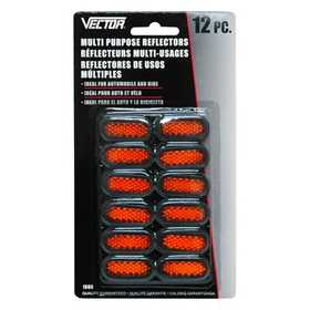 Vector 1660 Reflectors Multi Purp 12pc
