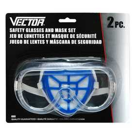 Vector 808 Mask Glasses & Filter 2pc