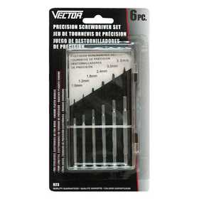 Vector 923 Screwdriver Set 6pc Precision