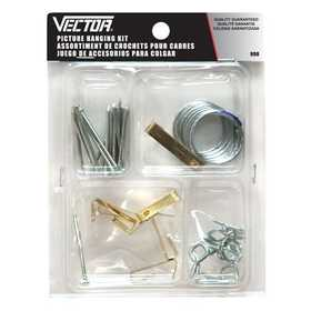 Vector 990 Picture Hanging Hook Asst