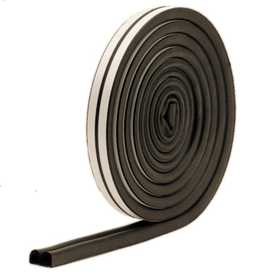 M-D Building Products 1033 All Climate Auto&Marine Weatherstrip All Strip 10 ft Black