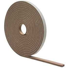 M-D Building Products 2816 High Density Foam Tape 1/4x1/2x17 ft Brown
