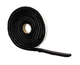 M-D Building Products 6577 Premium Sponge Rubber Weatherstrip Tape 1/4x1/2x10