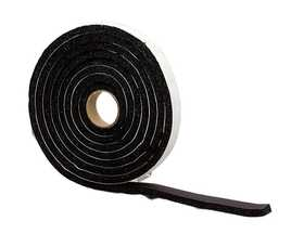 M-D Building Products 6635 Premium Sponge Rubber Weatherstrip Tape 3/8x3/4x10