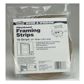 M-D Building Products 7766 Economy Nail-On Framing Strips 3/4x36 18