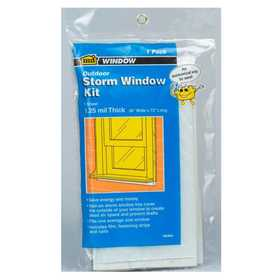 M-D Building Products 8273 Economy Storm Window Kit 4 Windows 36x72