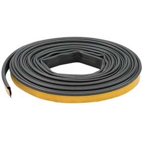 M-D Building Products 68668 1/2 in X 20 ft Black Silicone Door Seal