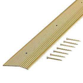 M-D Building Products 79244 Carpet Trim Extra Wide Fluted 2 In X 36 In