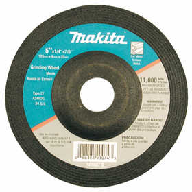 Makita 741407-8-1 Wheel Grinding 5x1/4 24grit