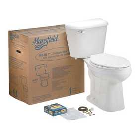 Mansfield Plumbing PROFIT#3WH Elongated Front Smart Height Toilet Kit White