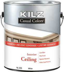Kilz MR20501 Kilz Casual Colors Ceiling White Gal
