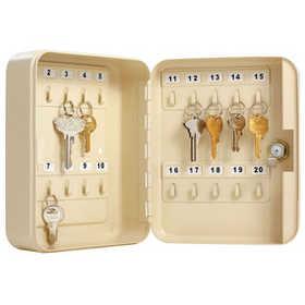 Master Lock 7131D Safe Key Heavy Duty Holds 20 Keys