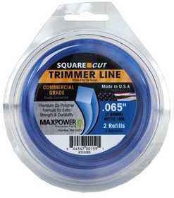 Max Power Precision Parts 332065W Square One Trimmer Line .065 in