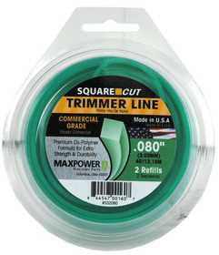 Max Power Precision Parts 332080W Square One Trimmer Line .080 in