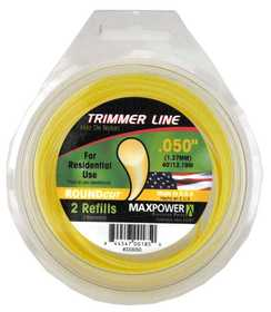 Max Power Precision Parts 333050W Round Trimmer Line .050-Inch