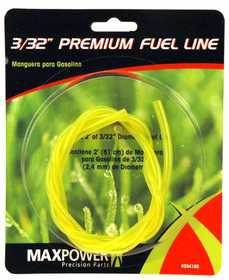 Max Power Precision Parts 334180 Tygon Fuel Line 3/32 in 2 ft section