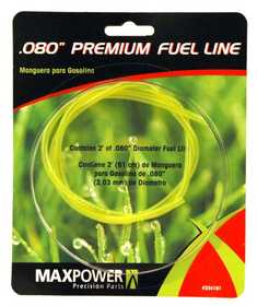 Max Power Precision Parts 334181 Tygon Fuel Line .080-Inch 2-Foot section