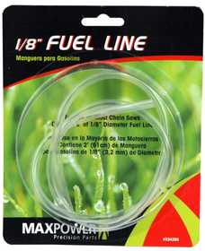 Max Power Precision Parts 334289 1/8-Inch 2-Foot Clear Fuel Line