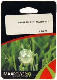 Max Power Precision Parts 339129 Primer Bulb Walbro