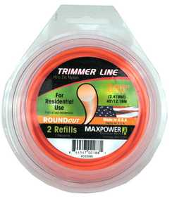 Max Power Precision Parts 353095 Round Trimmer Line .095 in
