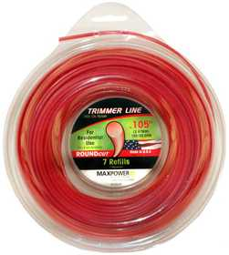 Max Power Precision Parts 353205 Round Trimmer Line .105-Inch