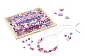 Melissa & Doug 9493 Deluxe Collection Wooden Bead Set