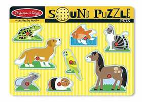 Melissa & Doug 730 Pets Sound Puzzle 8 Pieces