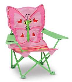 Melissa & Doug 6173 Bella Butterfly Child's Outdoor Chair