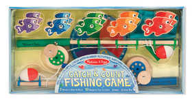 Melissa & Doug 5149 Catch And Count Magnetic Fishing Rod Set