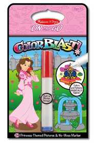 Melissa & Doug 5356 Princess Colorblast Book On The Go Travel Activity