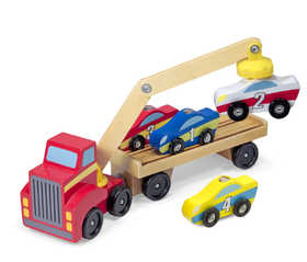 Melissa & Doug 9390 Magnetic Car Loader