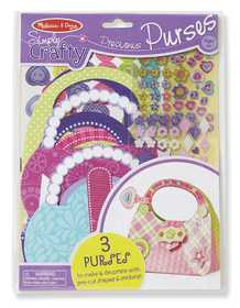 Melissa & Doug 9482 Simply Crafty Precious Purses