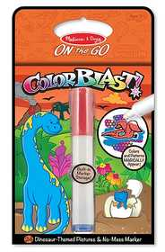 Melissa & Doug 5357 Dinosaurs Colorblast Book On The Go Travel Activity