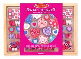 Melissa & Doug 4175 Sweet Hearts Bead Set